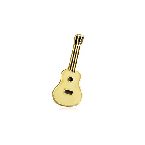 Mehrere Cartoon Mini Broschen Emaille Pin Leaf Kaktus Sonnenbrille Saft Flamingo Gitarre Katze Palm Denim Jacken Revers Pin Badges-Style7