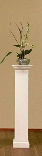 casamia Säulenschrank Blumensäule Duett Höhe 132 cm 1 Tür Pinie massiv Farbe Pinie lipizano