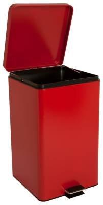 McKesson 81-35267 Entrust Waste Can, Steel, Square, 18-1/4