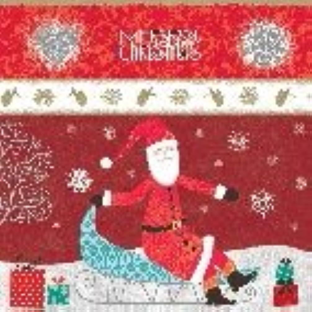 においしなやかな高潔なMaki ポーランド製 ペーパーナプキン クリスマス サンタクロース ソリ