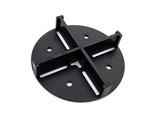 Fugenkreuze 5mm Fuge 20 Stück für Gartenterrassen Terrassenfliesen Fliesen Verlegehilfe Abstandshalter Fliesenkreuze mit Boden und Ablauf