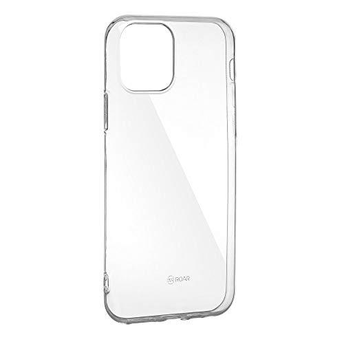 R Roar All Day- Custodia protettiva posteriore in gel/TPU e antiscivolo, protezione totale - compatibile con Huawei P20 Pro - colore trasparente