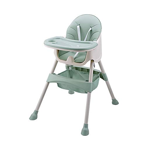 Swttppy Booster del bebé Los bebés niños pequeños Comer Tabla Trona Niños Niños Alimentación portátil de la tabla del asiento elevador portátil de viaje plegable del asiento Cena Mesa plegable Silla a