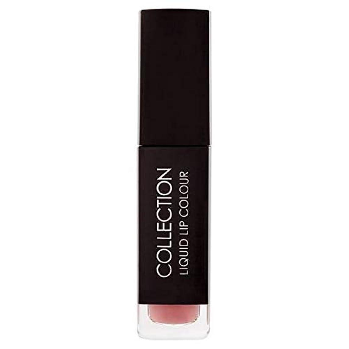 然としたスラム街浸透する[Collection ] 収集液体リップカラー5ミリリットルヌードキャラメル - Collection Liquid Lip Colour 5ml Nude Caramel [並行輸入品]