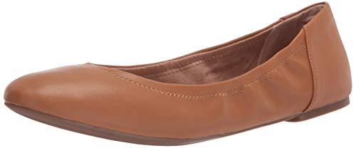 Amazon Essentials Women s Ballet Flat  Camel  8 B US