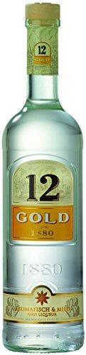 Ouzo 12 Gold - Belebt die traditionellen griechischen Werte mit mediterraner Leichtigkeit / (1 x 0.7 l)