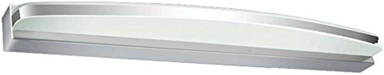 J-Q-D Wasserdichte Nebel Led Spiegel Vorne Lampe Europische Badezimmer Schlafzimmer Dresser Spiegel Licht, Acryl ( Farbe   Weies Licht-90cm15w )