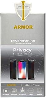 لاصقة سوداء لحماية الخصوصية من ارمور مع كوفر شفاف لموبايل Motorola Moto G5