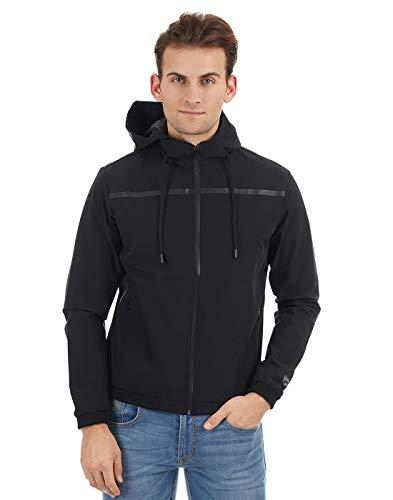 Pepe Jeans Men's Jacket (PM401971_Black_XXL)