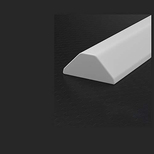 xxz Duschwasserstop Wasserrückhaltestreifen mit Kleber Faltbare Nasszelle Bad Bodenabdichtung Dusche Küche Nasszelle Verhindert das Überlaufen der Schwellendammbarriere