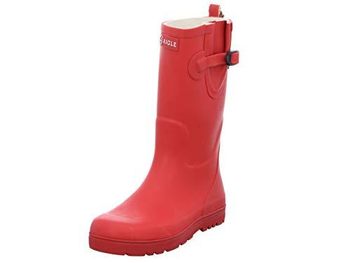 Aigle Woodypop, Unisex-Kinder Gummistiefel, Rot (Cerise), 24 EU