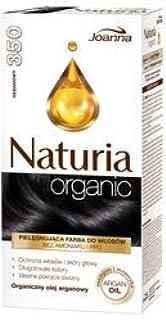 Joanna Naturia Tinte orgánico para cabello 350 ébano: Amazon ...