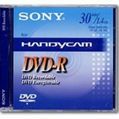 Sony - DVD-R (recordable) für DVD-Camcorder, 30 Minuten,3er-Pack
