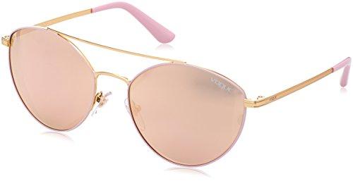 Vogue 0vo4023s 50245r 56 Gafas de sol, Matte Pink/Gold, Mujer