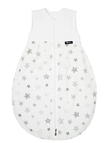 Alvi Schlafsack Baby Mäxchen light I leichter Babyschlafsack ärmellos I Sommerschlafsack Jungen und Mädchen I 100% Baumwolle