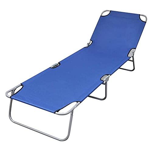ZYNS Sun loungers Sun Lounger Leisure Folding Chair Recliner Adjustable Lounge Chair For Garden Terrace Office