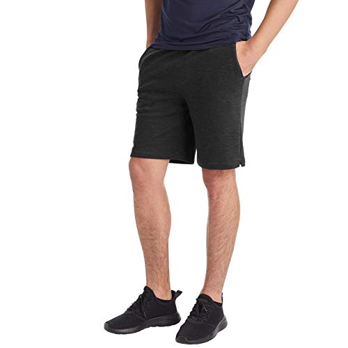 C9 Champion Men's Soft Touch Shorts, Ebony Heather, L