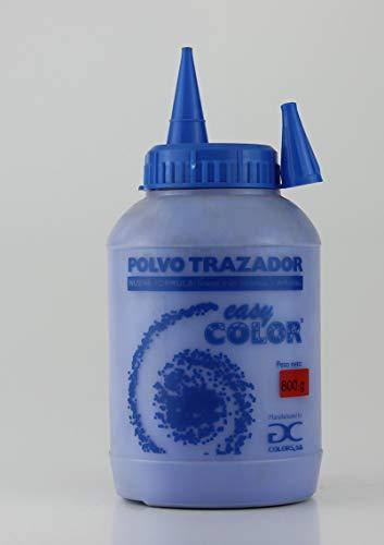 Easy Color Polvo trazador azul frasco 800 g. Tiralíneas...