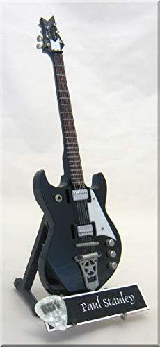 Paul Stanley Miniatur-Gitarre Kiss mit Plektrum