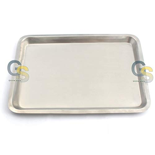 G.S 12 INCH X16 INCH STAINLESS STEEL COOKIE SHEET