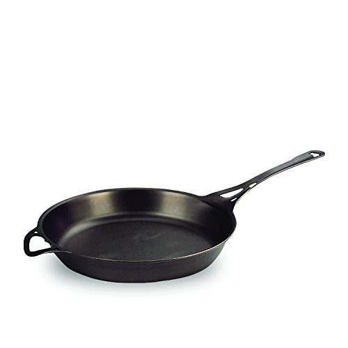 AUS-ION Skillet, 12.5' (32cm),Smooth Finish, 100% Made in Sydney, 3mm Australian Iron, Commercial Grade Cookware