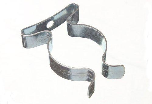 Paquet de 10 matériels de rangement printemps Terry Clips 1 pouce BZP 25Mm