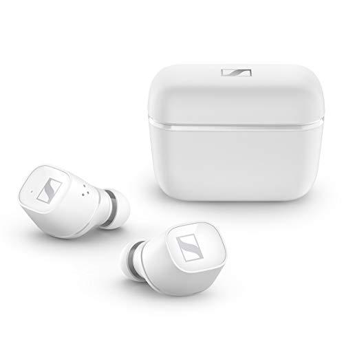 Sennheiser ゼンハイザー Bluetooth 完全ワイヤレスイヤホン CX 400BT True Wireless WHITE, ドイツ本社開発7mmドライバー、LDSアンテナ、Bluetooth 5.1、aptX、AAC、バッテリー持続時間イヤホン本体最大7時間ケース併用最大20時間、CX400TW1 WHITE【国内正規品】 ワンサイズ
