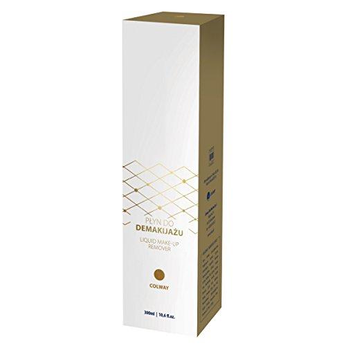 Colway DÉMAQUILLANT LIQUIDE avec Atelocollagen Forte Hydratation & Apaisante Biologique cosmetique Sans SLS! 300ml