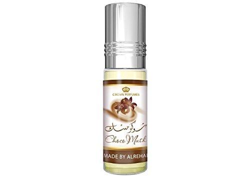 1 X Choco Musk - 6ml (.2 oz) Perfume Oil by Al-Rehab (Crown Perfumes)