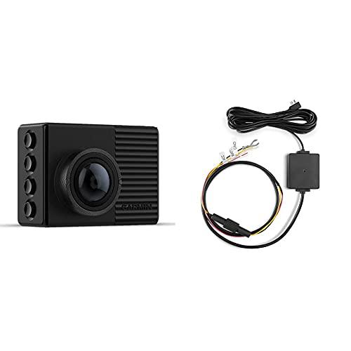 Garmin Dash Cam 66W Quad HD Nero & 010-12530-03 Dash Cam Cavo in modalità parcheggio