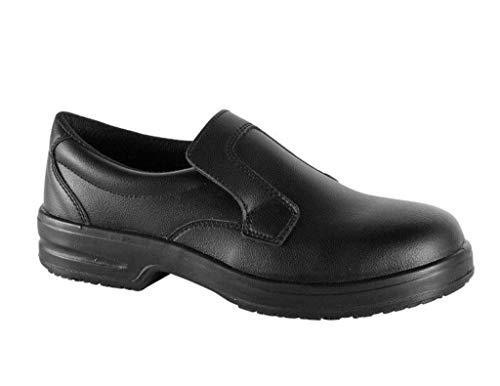 Safe Way Sicherheitsschuhe 00P313 schwarz rutschhemmend mit Schutzkappe (40)
