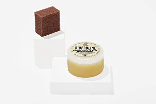 BIOPROLINE® Lederbalsam 100% natürliche Rohstoffe vorwiegend aus kontrolliert biologischem Anbau - zertifiziert durch Ecocert und EcoControl gemäß NCP-Standard. 170ml. Made in Germany.