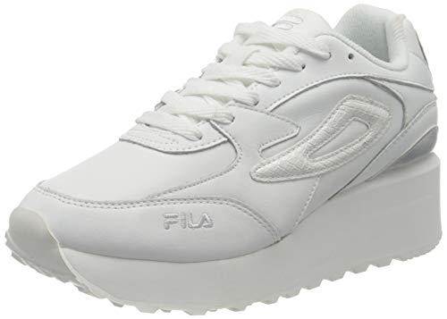 FILA Doroga Zeppa L wmn zapatilla Mujer, blanco (White/Animal), 42 EU