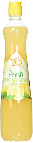 Yo Sirup Fresh Zitrone-Melisse-Minze, 6er Pack, PET (6 x 700 ml)