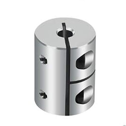 XBaofu 1pc Starre Wellenkupplungen Clamp Stepper Servo Motor Kupplung D20 L25 3mm, 4mm, 5mm, 6mm, 6.35mm, 7mm, 8mm-Zoll-CNC (Farbe : 1pc, Größe : 4X6.35)