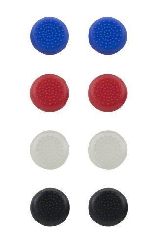 Speedlink STIX Controller Cap Set - Analogstick Aufsätze - Ergonomie - Zubehör für den Original Dualshock Controller der Playstation 4, mehrfarbig
