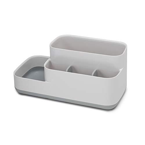 Joseph Joseph 70513 EasyStore Bathroom Storage Organizer Caddy Countertop, Gray