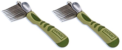 Safari De-Matting Comb for Dogs (2 Pack)