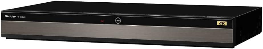 シャープ 1TB 2番組同時録画 4K ブルーレイレコーダー 4B-C10DW3 4K放送 W録画/長時間録画対応