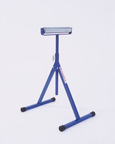 Trojan RS-12 Adjustable 24-Inch to 40-Inch Multi-Directional Pedestal Roller Stand with 12-Inch Roller