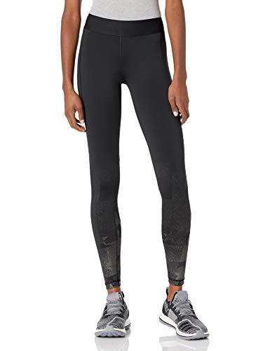 adidas USA Volleyball Performance Aeroready Long Calzamaglia, Nero/Carbonio, XS Donna