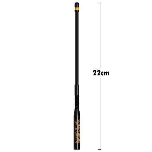 「限定販売」 CMY-AIR1 (オレンジカラー) VHF/UHFエアーバンド受信専用アンテナ (ミドルサイズ)(SMAコネクタ)(スプリング機構)