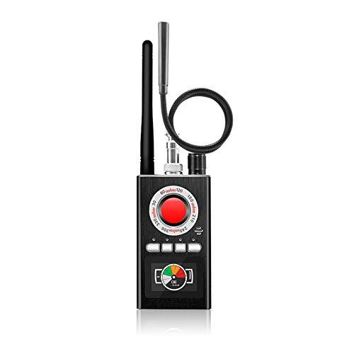 RUIZHI Detector de cámara oculta anti espía, detector de errores inalámbrico RF detector de cámara oculta para cámara de audio inalámbrica detector de errores detector de señal alarma