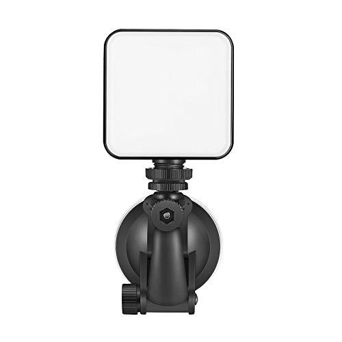 KESOTO Kit de Iluminação para Videoconferência em Computador com Recarregável - com Ventosa