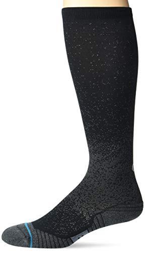 Stance Men's Tall Sock Run OTC ST, Black, Medium