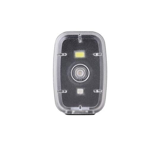 99native LED Fahrradbeleuchtung Rücklicht Fahrradlicht Set,USB Wiederaufladbare LED Silikon Fahrradleuchte wasserdichte,Fahrrad Rücklicht Set Push Cycle Clip Licht, Sicherheitslicht (Black)