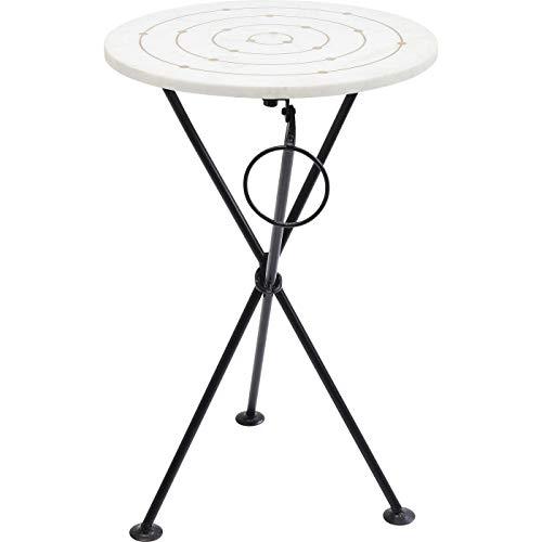 Kare Design Clack Circles 36 53 36 36 36 x 36 x 53 - Mesa auxiliar, 36 cm, metal