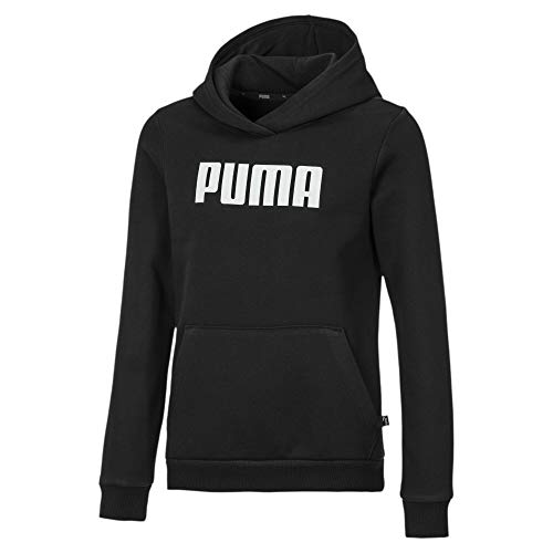 PUMA Essentials Mädchen Fleece Hoodie Cotton Black 164