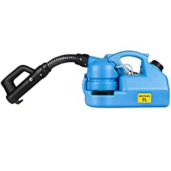 BRIGHTSHOW 7L Electric ULV Cold Sprayer Portable Fogger Machine 35inch Hose & 19.8ft Power Cord for Hospitals Home Ultra Capacity Spray Machine