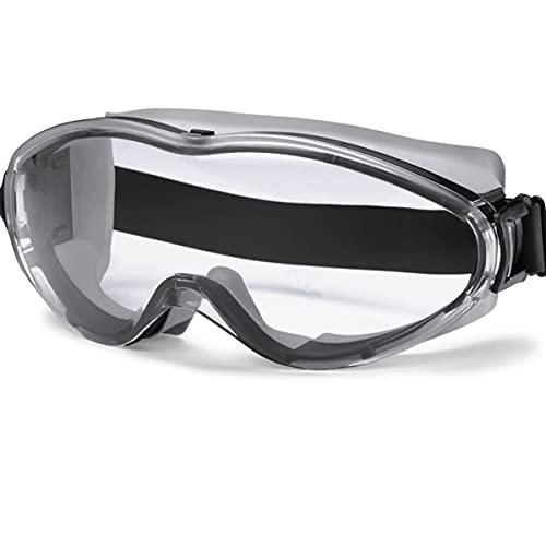 n\a Uvex Ultrasonic 9302245 - Gafas de seguridad, antivaho y antiarañazos claros para el trabajo y el deporte, para hombres y mujeres